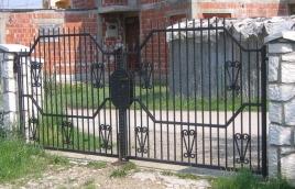 Ворота кованые номер: вк-0411