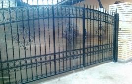 Ворота кованые номер: вк-0412