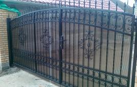 Ворота кованые номер: вк-0413