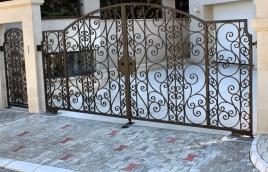 Ворота кованые номер: вк-0414