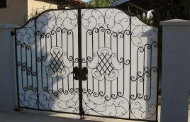 Ворота кованые номер: вк-0415