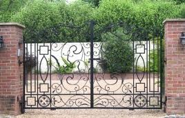 Ворота кованые номер: вк-0416