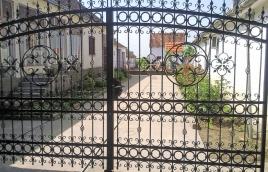 Ворота кованые номер: вк-0417