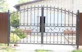Ворота кованые номер: вк-0418