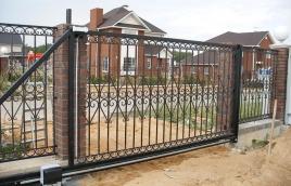 Ворота кованые номер: вк-0419