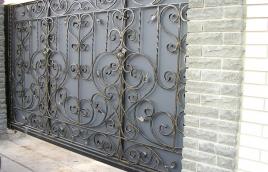 Ворота кованые номер: вк-0401