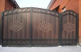 Ворота кованые номер: вк-0420