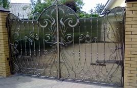 Ворота кованые номер: вк-0421