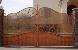 Ворота кованые номер: вк-0422