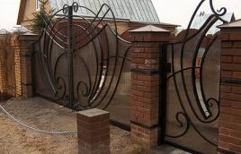 Ворота кованые номер: вк-0423