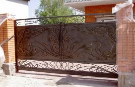Ворота кованые номер: вк-0424