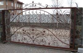 Ворота кованые номер: вк-0427