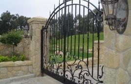Ворота кованые номер: вк-0428