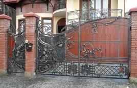 Ворота кованые номер: вк-0429