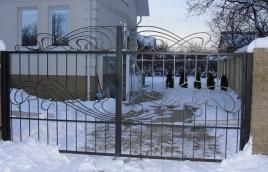 Ворота кованые номер: вк-0402