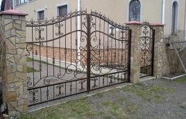 Ворота кованые номер: вк-0430