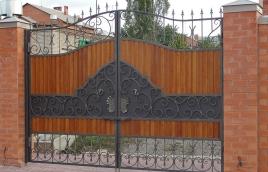 Ворота кованые номер: вк-0403