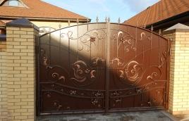 Ворота кованые номер: вк-0404