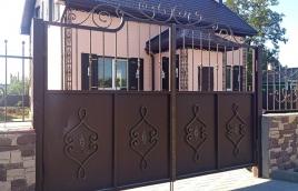 Ворота кованые номер: вк-0405