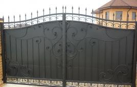 Ворота кованые номер: вк-0406
