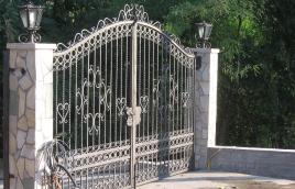 Ворота кованые номер: вк-0407