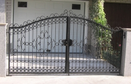 Ворота кованые номер: вк-0408