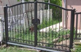Ворота кованые номер: вк-0409