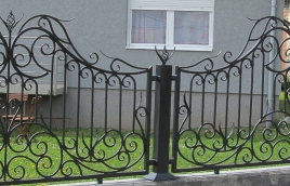 Забор кованый номер: кз-0240