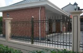 Забор кованый номер: кз-0242