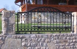 Забор кованый номер: кз-0244