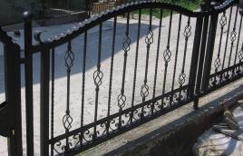 Забор кованый номер: кз-0245