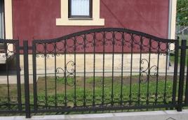 Забор кованый номер: кз-0246
