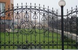 Забор кованый номер: кз-0248