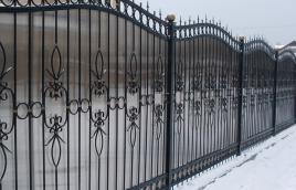 Забор кованый номер: кз-0249