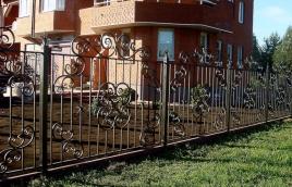 Забор кованый номер: кз-0253