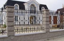 Забор кованый номер: кз-0254