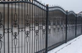 Забор кованый номер: кз-0259