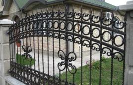 Забор кованый номер: кз-0232