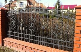 Забор кованый номер: кз-0260