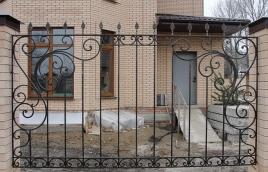 Забор кованый номер: кз-0234
