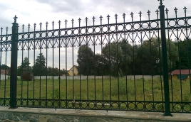 Забор кованый номер: кз-0235