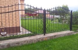 Забор кованый номер: кз-0236