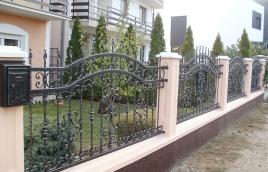 Забор кованый номер: кз-0238