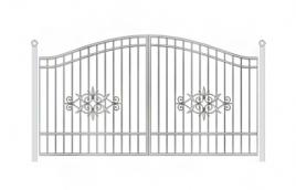 Ворота кованые эскиз: экв-430