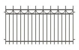 Забор сварной эскиз: эзс-508