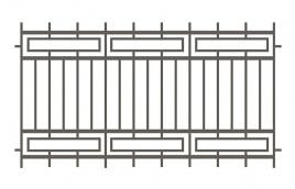Забор сварной эскиз: эзс-510
