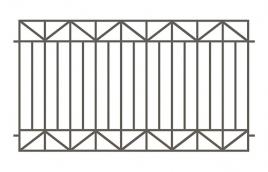 Забор сварной эскиз: эзс-513