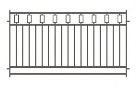 Забор сварной эскиз: эзс-515