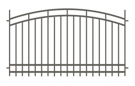 Забор сварной эскиз: эзс-518