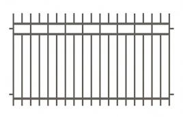 Забор сварной эскиз: эзс-523